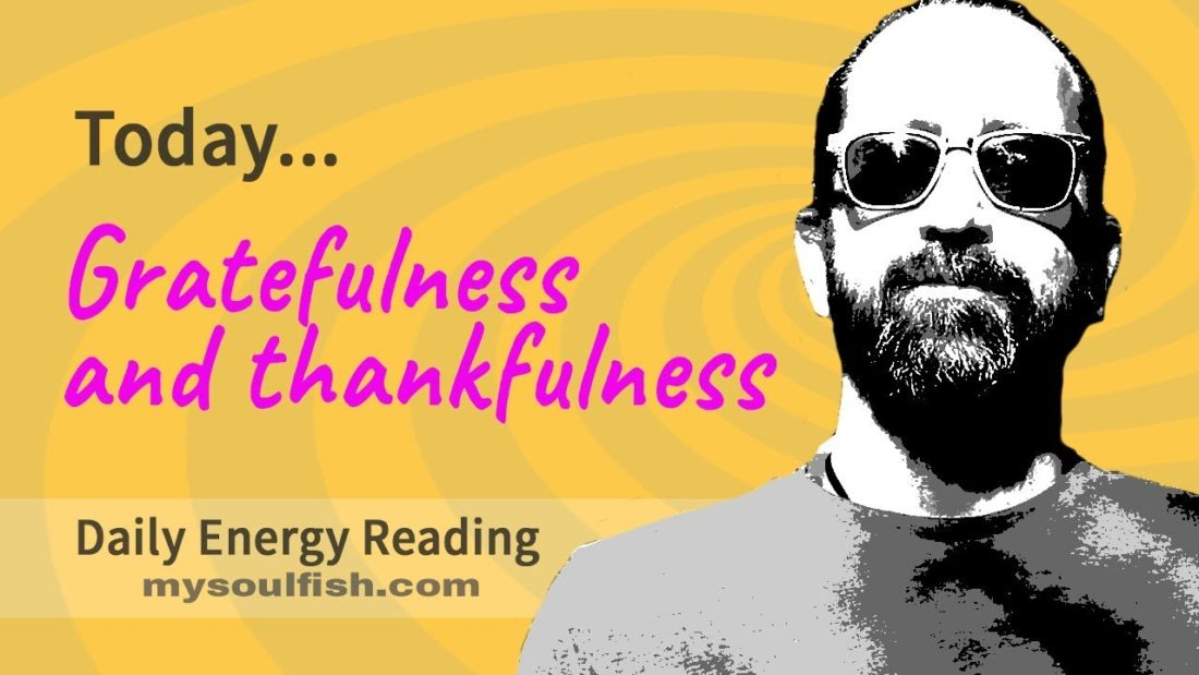 gratefulness and thankfulness