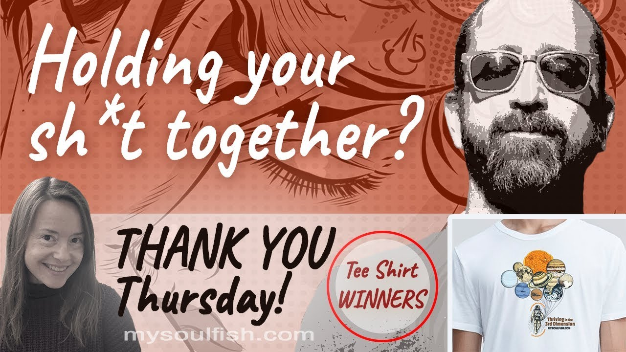Trying to keep your sh*t together? Here's some love.  * PLUS more love – subscribers win t-shirts!