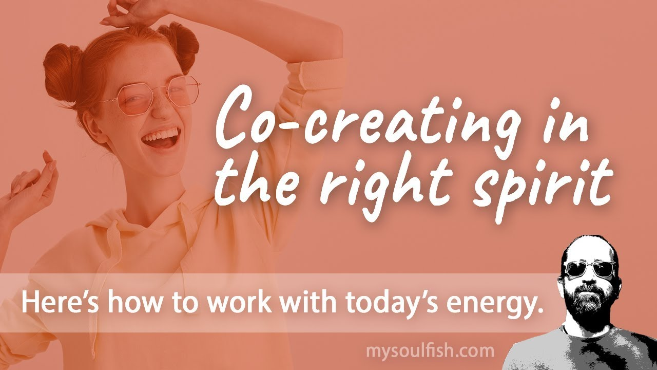 Today, co-creating in the right spirit.