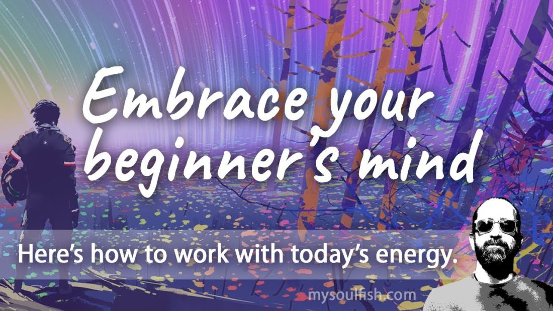 Today, embrace your beginner's mind
